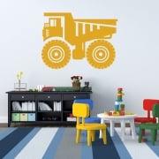 Dumper Truck Wall Sticker