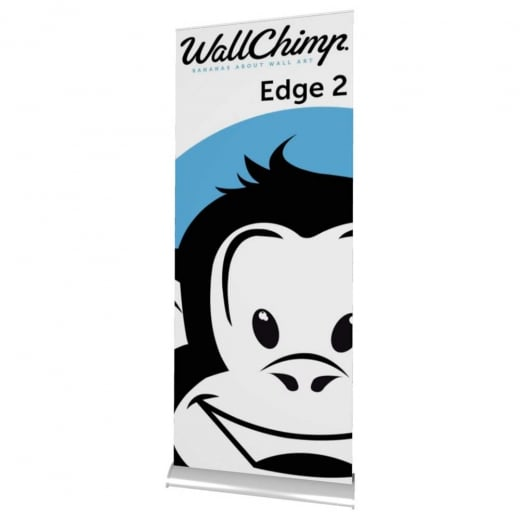 Wall Chimp Edge 2 (Double Sided) Banner Stand
