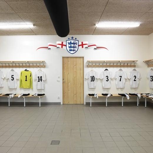 Wall Chimp England Football Crest Wall Sticker
