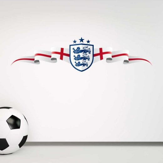 Wall Chimp England Football Crest Wall Sticker