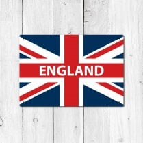 England Great Britain Flag Sign