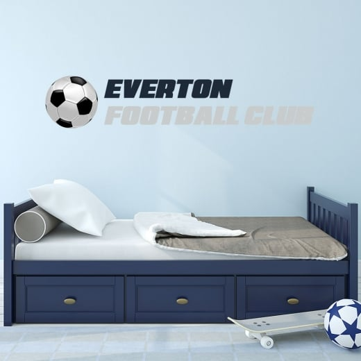Wall Chimp Everton Football Club Printed Wall Sticker