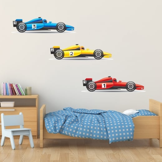 Wall Chimp F1 Racing Cars Sticker Pack