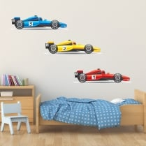 F1 Racing Cars Sticker Pack