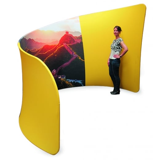 Wall Chimp Fabric Booths