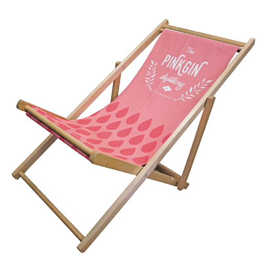 Wall Chimp Fabric Deck Chair