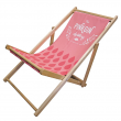 Wall Chimp Fabric Deck Chair
