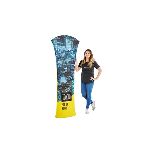 Wall Chimp Fabric pop-up stand