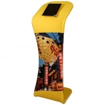 Fabric Tablet Display Stand