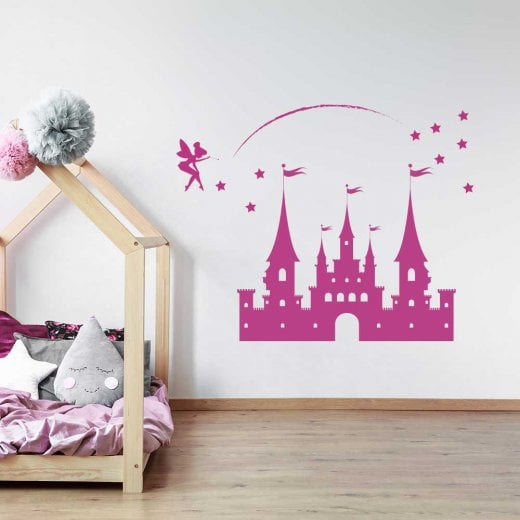 Wall Chimp Fairy Dust Princess Castle