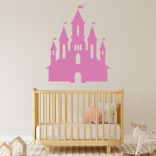 Wall Chimp Fairy Tale Castle Wall Sticker