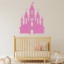 Fairy Tale Castle Wall Sticker