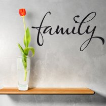 Family Wall Sticker Quote
