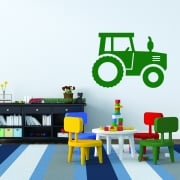 Farm Tractor 2 Wall Sticker