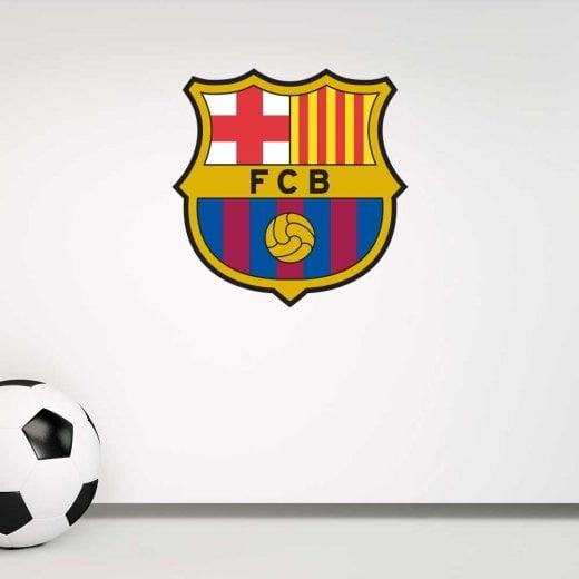 Wall Chimp FC Barcelona Football Wall Sticker Badge