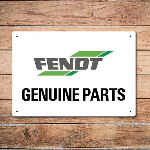 Wall Chimp Fendt Genuine Parts Metal Sign
