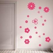 Flower Wall Sticker Pack