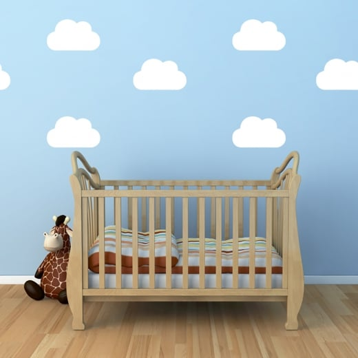 Wall Chimp Fluffy Cloud Sticker Pack