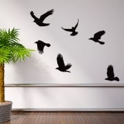 Flying Birds Wall Sticker Pack