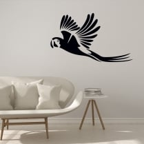 Flying Parrot Wall Sticker