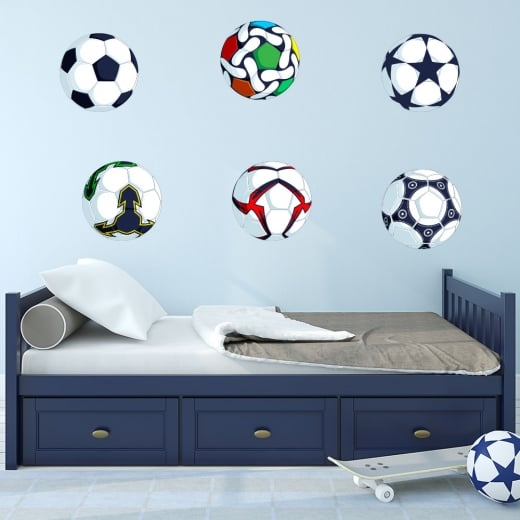 Wall Chimp Football Printed Sticker Pack