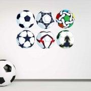 Football Printed Sticker Pack