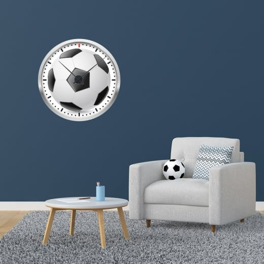 Wall Chimp Football Wall Clock