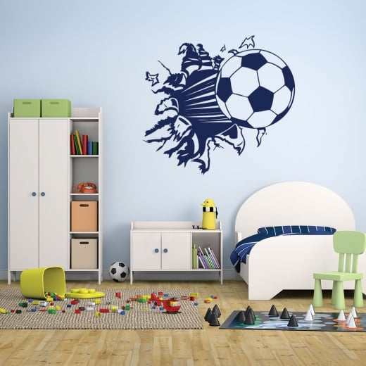 Wall Chimp Football Wall Sticker