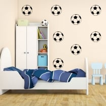 Football Wall Sticker Pack