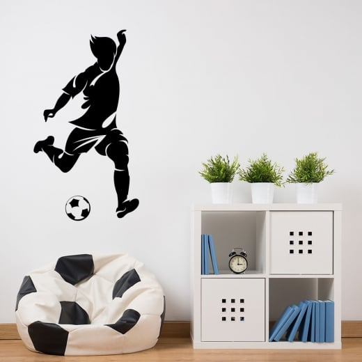 Wall Chimp Footballer One Wall Sticker