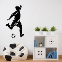 Footballer One Wall Sticker