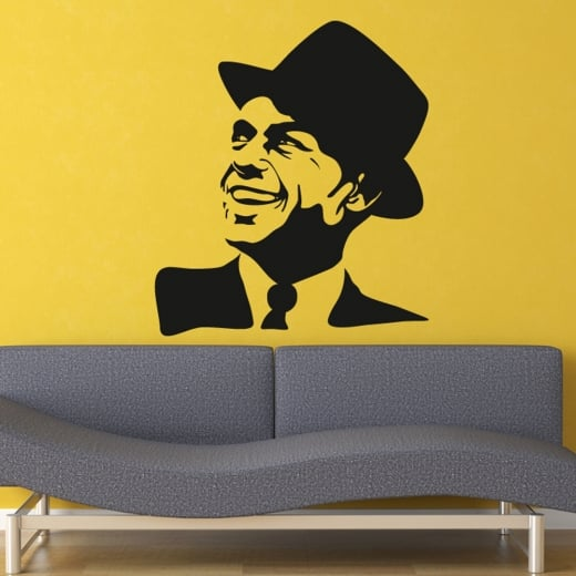 Wall Chimp Frank Sinatra Wall Sticker