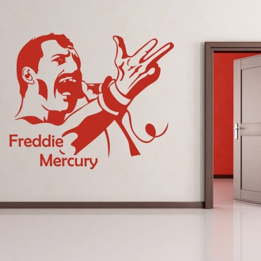 Wall Chimp Freddie Mercury Wall Sticker