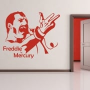 Freddie Mercury Wall Sticker