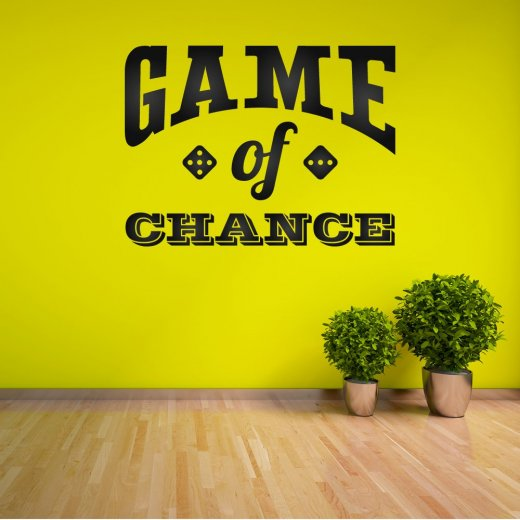 Wall Chimp Game Of Chance Wall Sticker