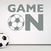 GAME ON Football Wall Sticker