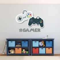 #Gamer Wall Sticker