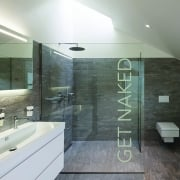 Get Naked Bathroom Wall Sticker