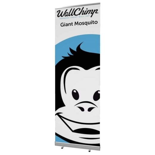 Wall Chimp Giant Mosquito Banner Stand