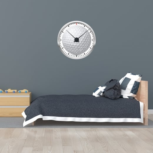 Wall Chimp Golf Wall Clock