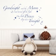 Goodnight Said The Moon Wall Sticker