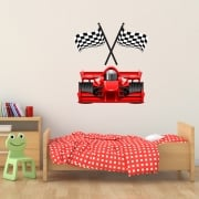 Grand Prix Racing Car Printed Wall Sticker