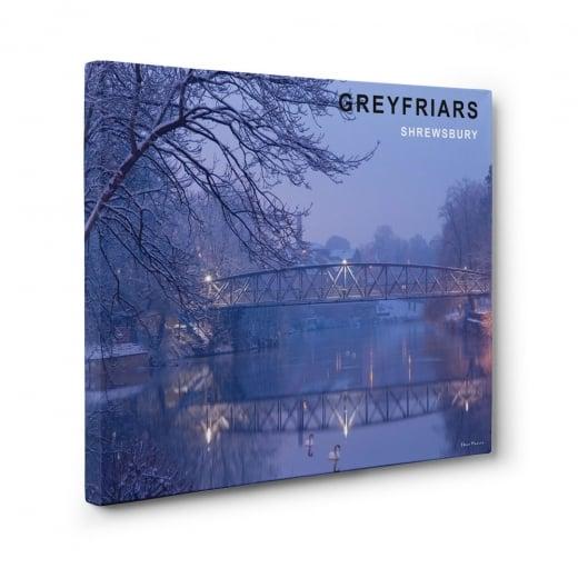 Wall Chimp Greyfriars - Shrewsbury Canvas Print