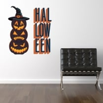 Halloween Printed Wall Sticker