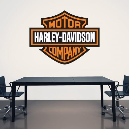 Wall Chimp Harley-Davidson Printed Wall Sticker Badge