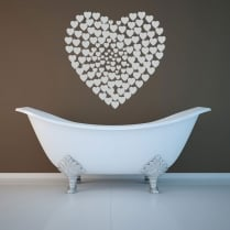 Heart Of Hearts Wall Sticker