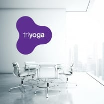 Heather Garrick Triyoga Custom Wall Sticker WC694QT