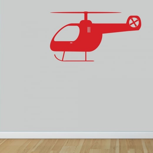 Wall Chimp Helicopter Wall Sticker