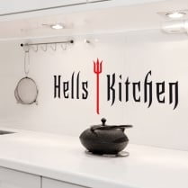 Hells Kitchen Wall Sticker