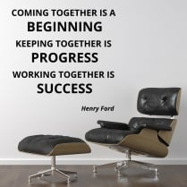 Henry Ford Motivational Wall Sticker